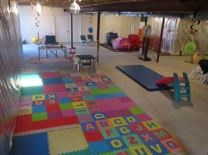 AFTER: The finished room is ideal for staging birthday parties
