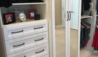 Based on client needs and preferences, More Than Closets creates a custom solution that will maximize storage