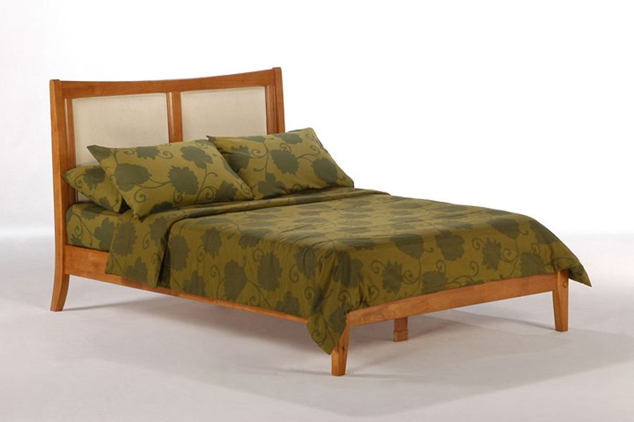 com: Night & Day Furniture Solstice Bed, P Series, Queen, Medium Oak  Finish: Kitchen & Dining