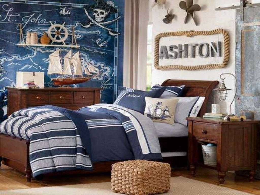pirate bedroom decor room decoration kids best furniture ideas childrens wall