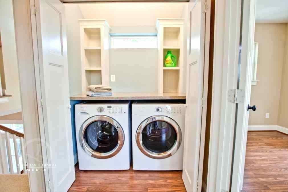 laundry closet shelf ideas