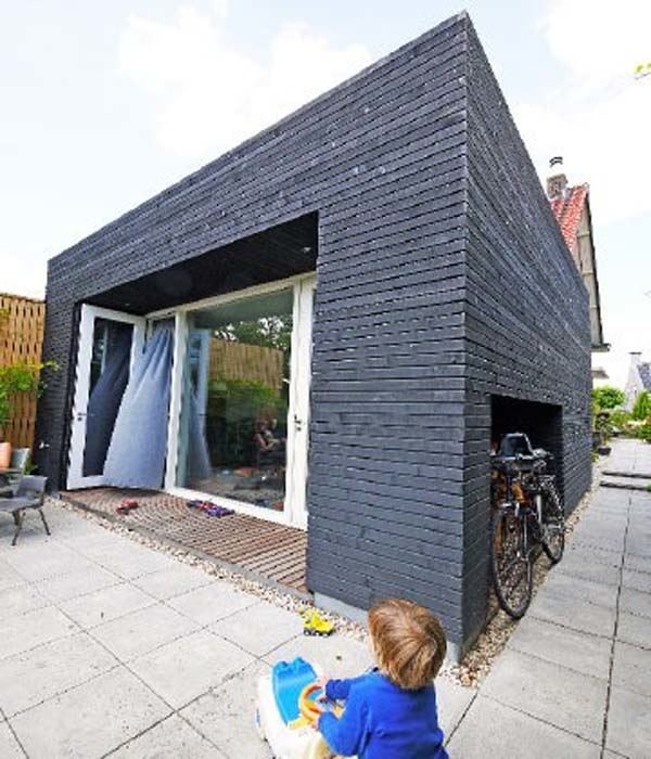 The Big Dig House by Single Speed Design is a testament to recycling