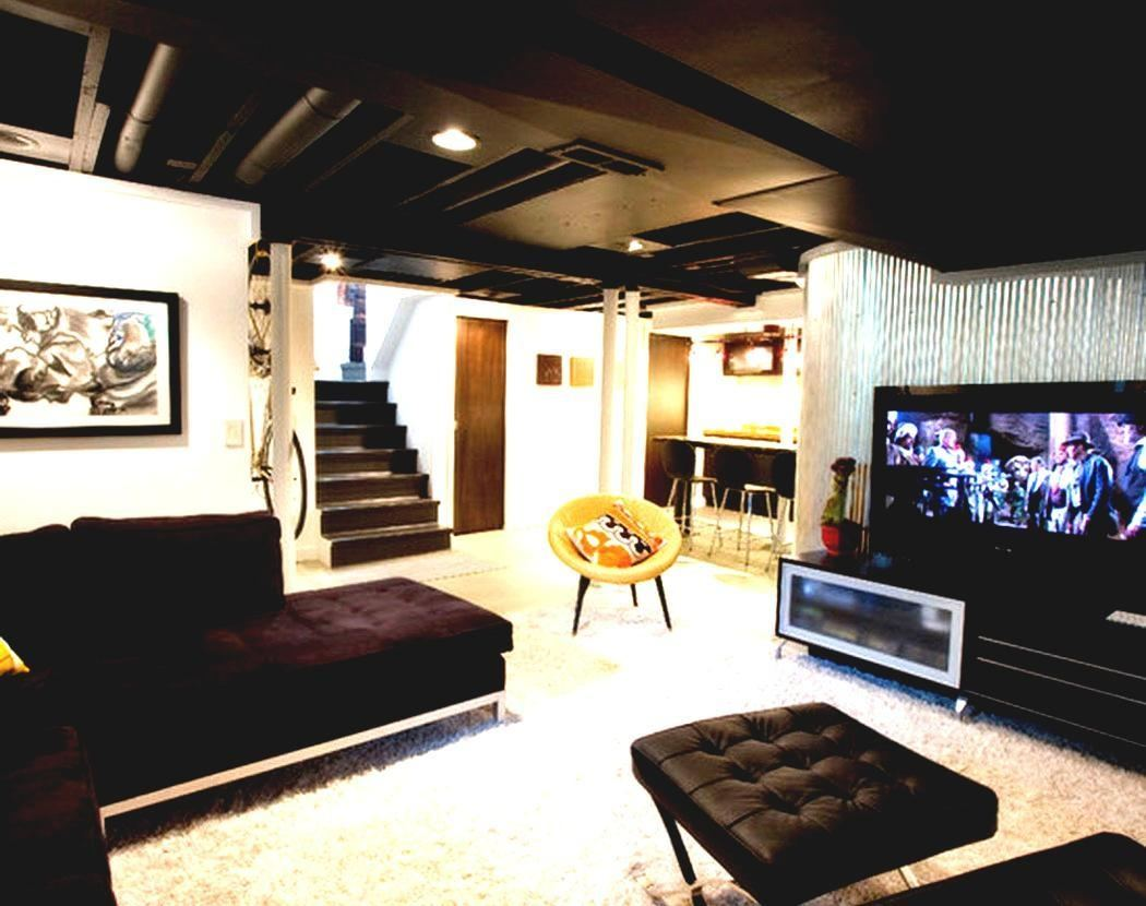 game room furniture rooms striped area rugs cool basement ideas