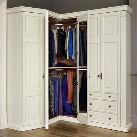 corner closet for small bedroom ideas