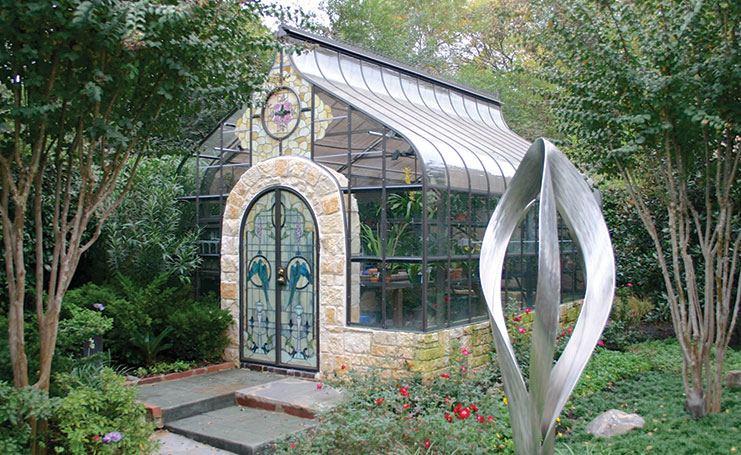Klassisches Gartenhaus in Cleveland