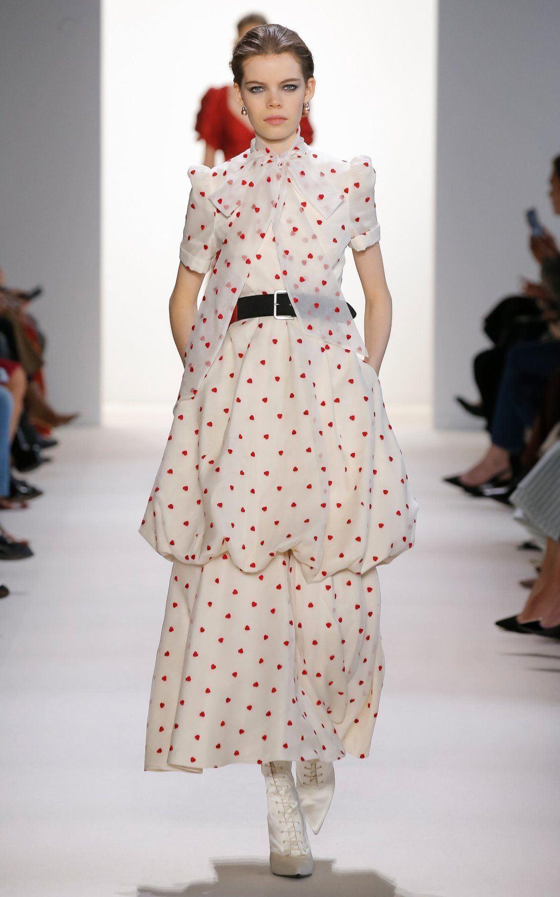 Fashion Designer Runway Summer Women Dress Short Flare Sleeve Floral Print Heart O Collar Indie Folk