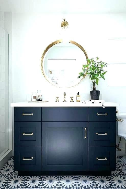 small  bathroom ideas with black vanity