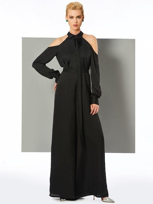 Ladies in search of black long sleeves dress should ahead here