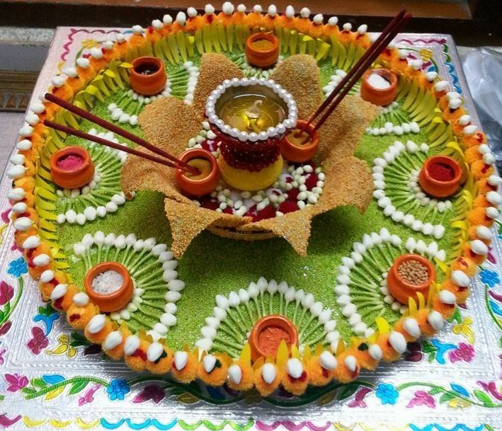 DIY Very Easy Aarti Thali Decoration Idea/How to Decorate Thali for Festivals/Thermocol