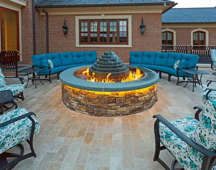 outdoor fireplace ideas 1