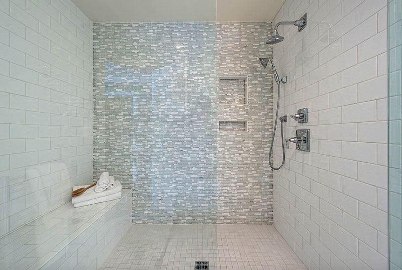 tub shower tile surround ideas wall magnificent scrubber designs patterns