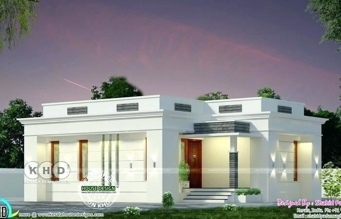 Flat Roof House Designs, 4 Bedroom House Plans, My House Plans, Bungalow House Plans, Single Storey House Plans, Roof Design, Round House, House Painting,