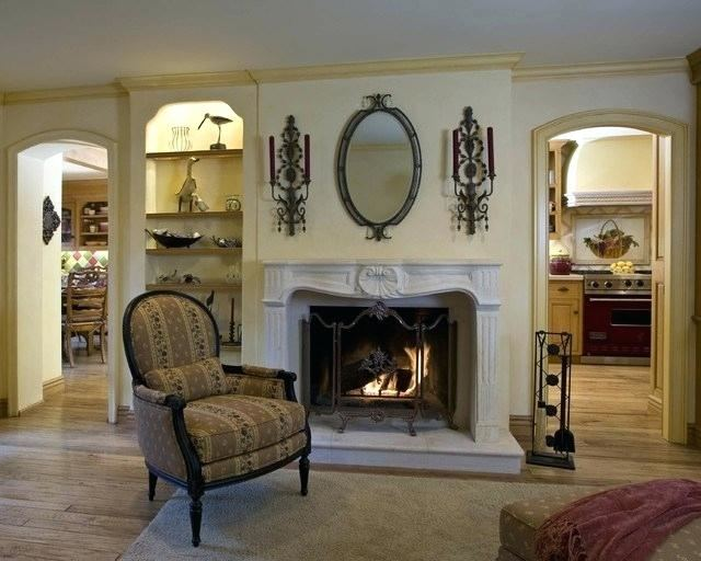 affordable hgtv fireplace decor wall above fireplace neutral mantel decor  fireplace wall this neutral fireplace mantel is hgtv fireplace decor with  country