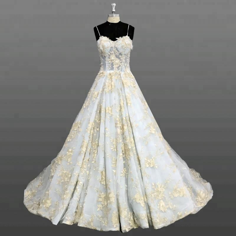 Gold Lace Wedding Gowns, Gold Lace Wedding Gowns Suppliers and Manufacturers at Alibaba