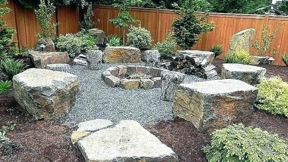 Pea Gravel Patio With Paver And Furniture : Inexpensive Pea Gravel