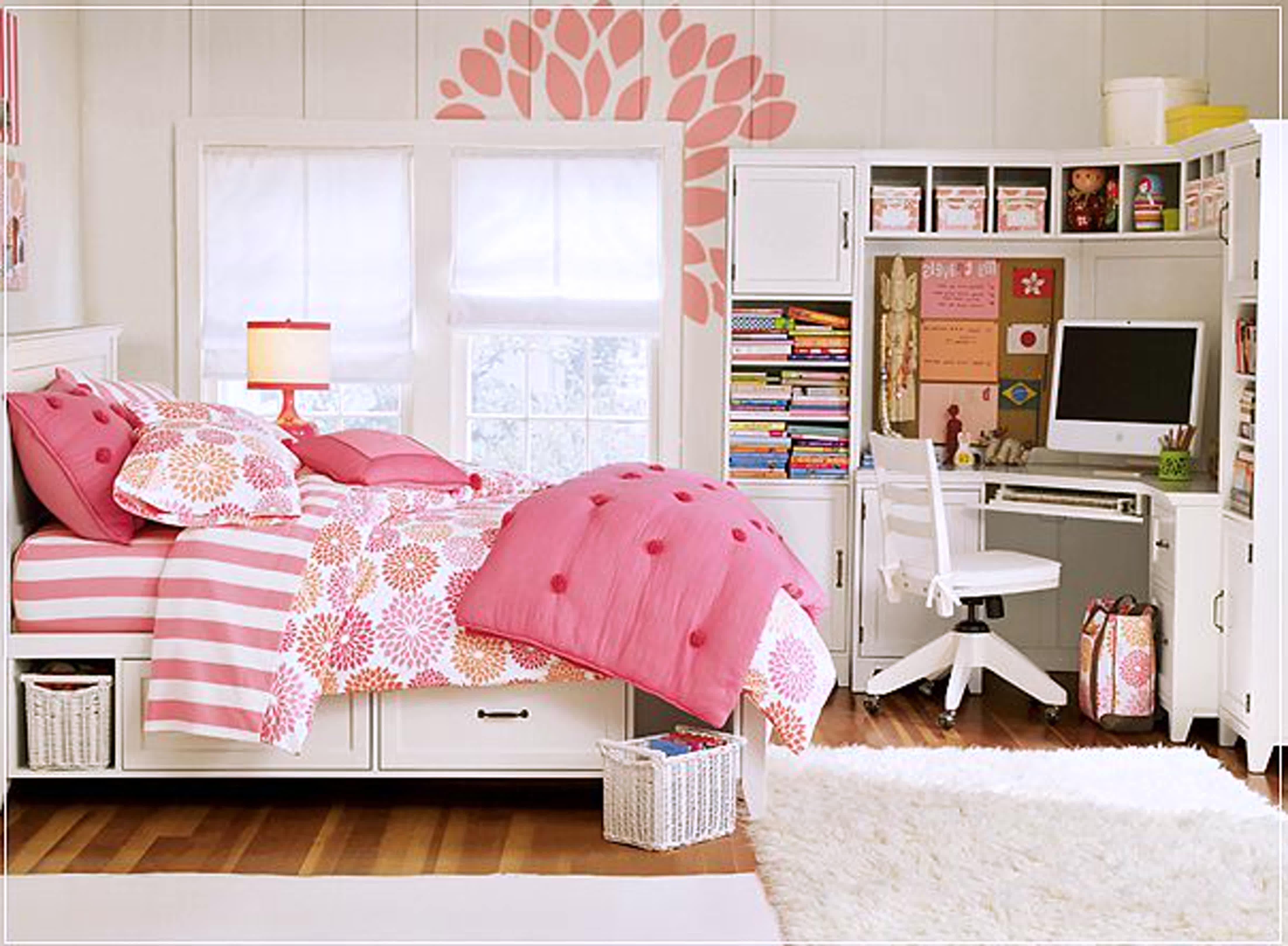 Teen Girl Bedroom Design with Black Furniture, Black And White Teen Bedroom Bedroom In 2019
