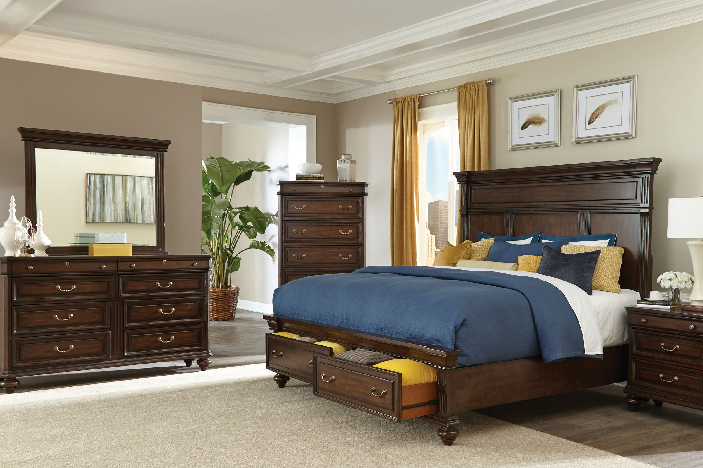 hawthorne bedroom furniture collection white