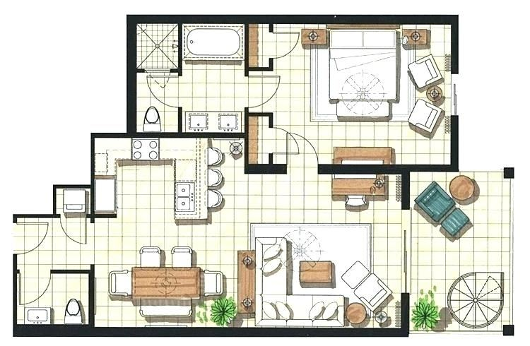 3d small house design