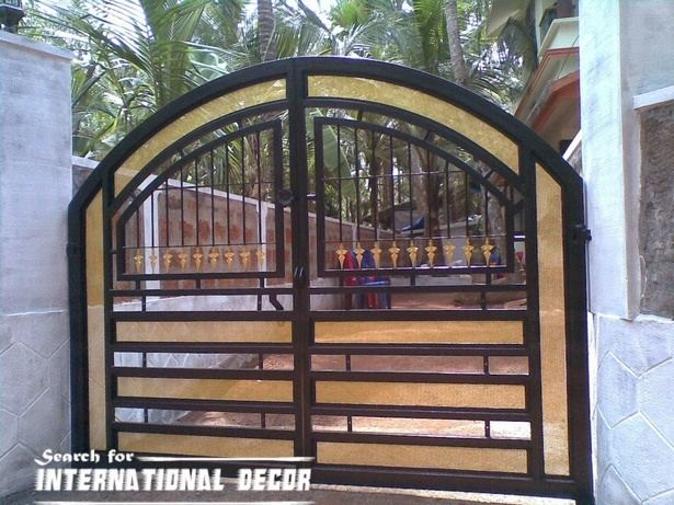 Full Size of Home Front Steel Gate Design Sliding For In India Images Improvement Remarkable House