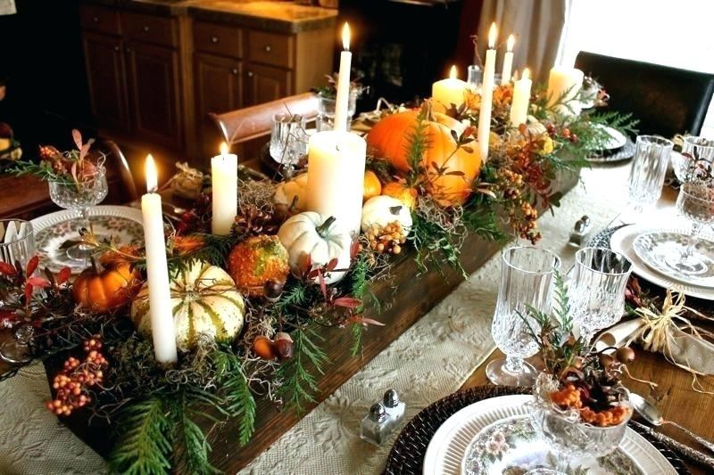 Thanksgiving table setting and decorating ideas