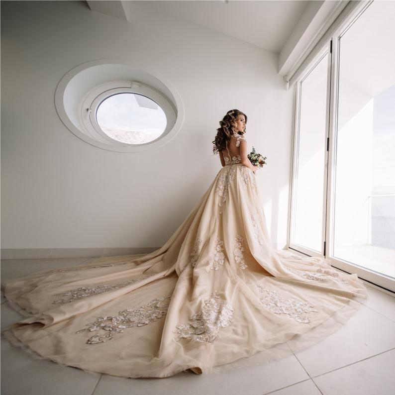 wedding dresses for short