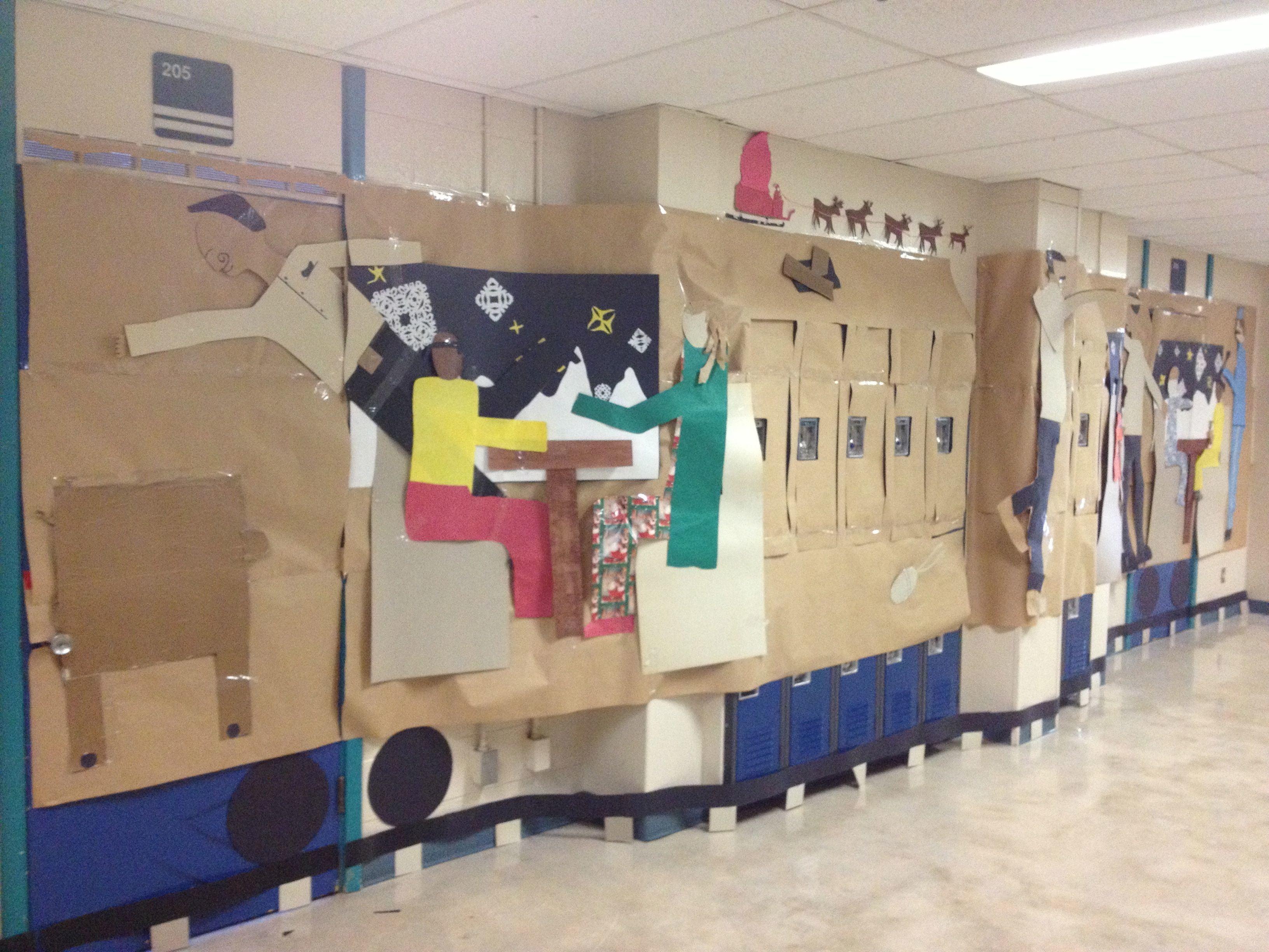 image number 19 of polar express door decorating