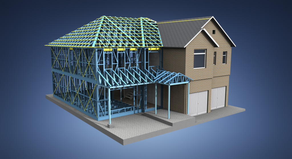 Our light steel frame buildings offer an extremely cost  effective,