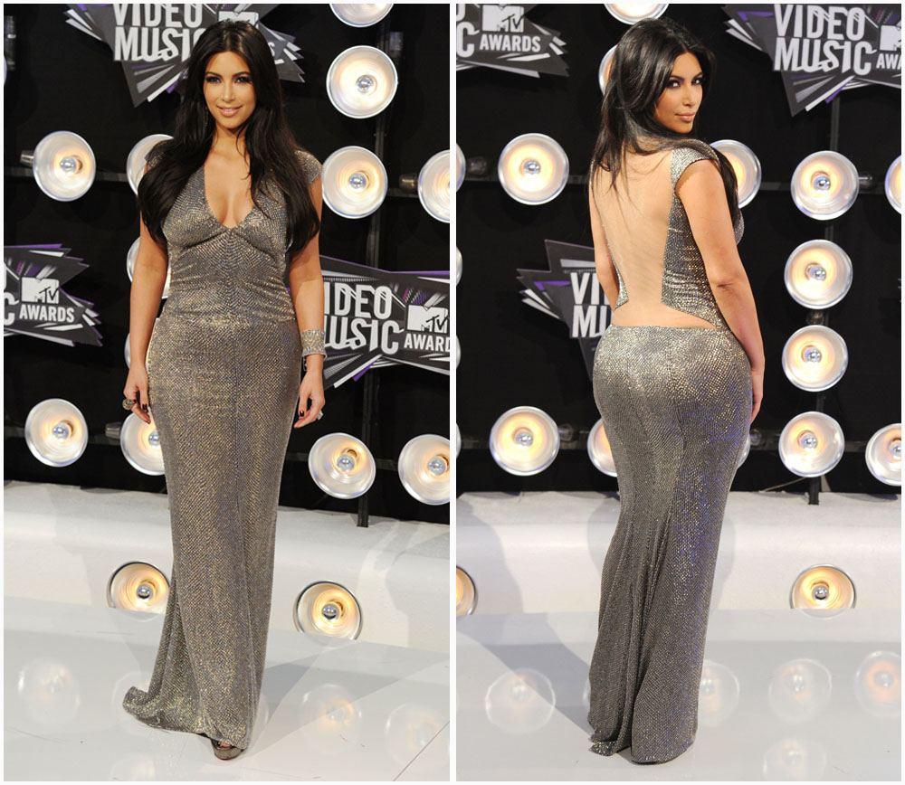 Kim Kardashian und Kanye West an den MTV Video Music Awards 2016