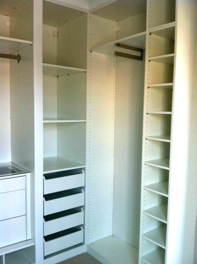 odd shaped closet organizers small organizer walk in organization l cube  shelving systems gallery u design