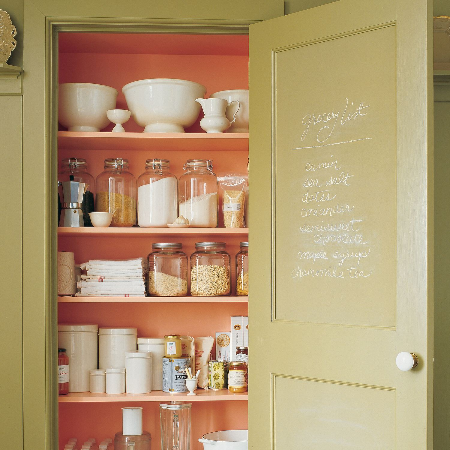 Unfinished Basement Ideas Pantry and Supplies