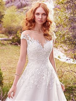 Enzoani 'Lena' size 12 new wedding dress front view