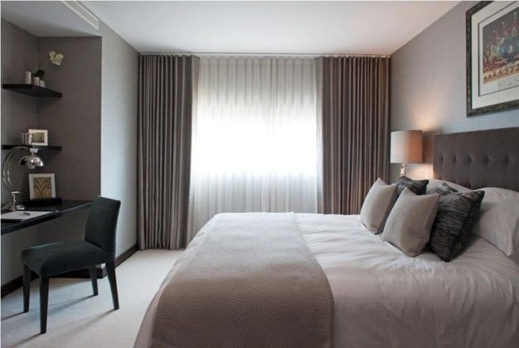 Create a hotel chic bedroom with just a few indulgent tricks