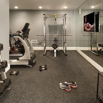 com basement gym design ideas