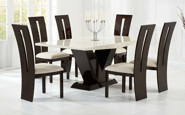 Amber Six Piece Dining Set