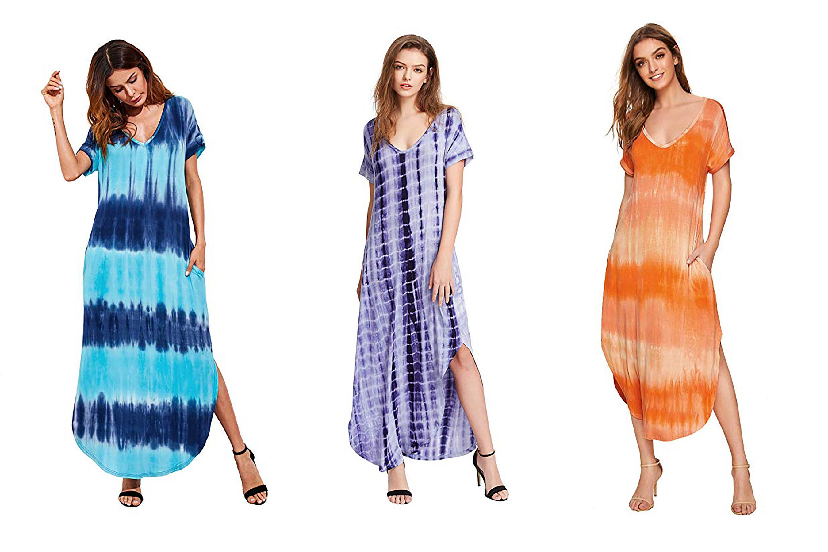 Ella Tie Dye Bodycon Tube Dress