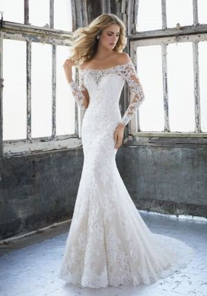 Y11632 Mermaid wedding dress