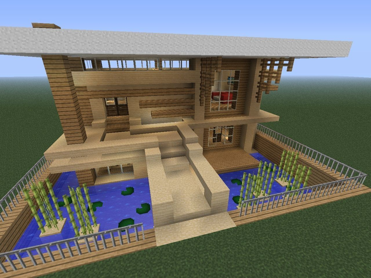 Full Size of Simple Wooden House Designs Minecraft But Cool Design Plans 3d For Small Homes