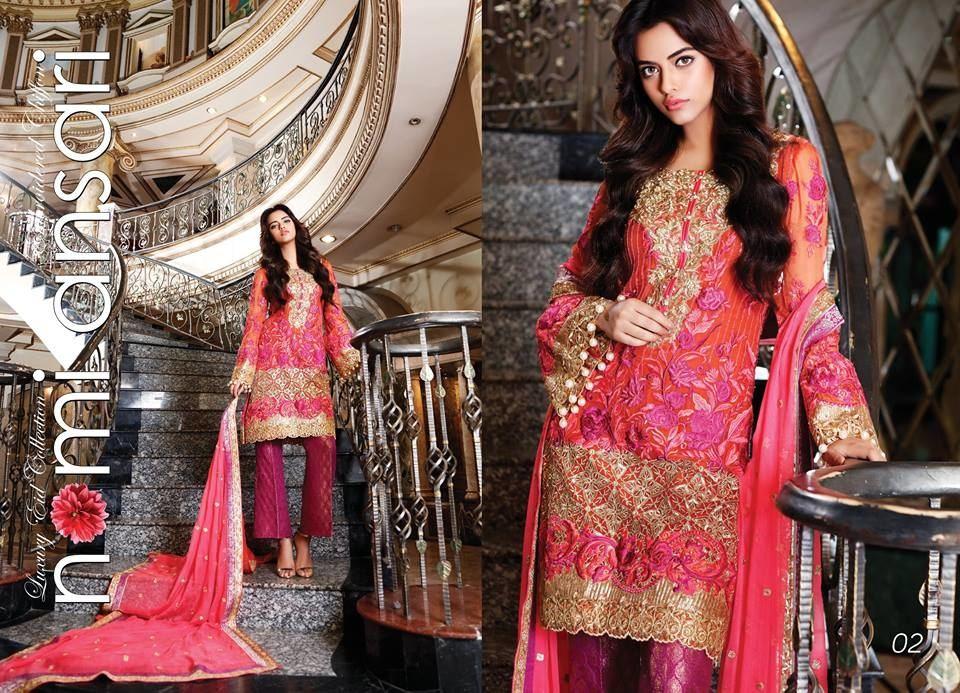 Nomi Ansari Bridal Suit, Ladies Replica Shop, Online Embroidered Dresses