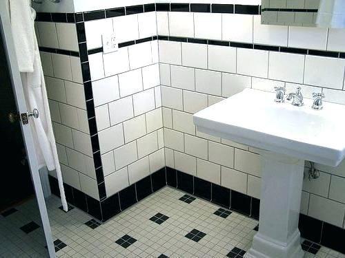 retro bathroom decor