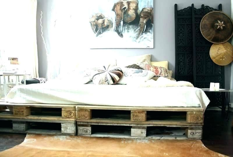 Diy Pallet Double Bed Diy Pallet Gift Ideas Bedroom Furniture Stores With The Best DIY Wood