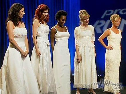 Project Runway Wedding Dress  Challenge
