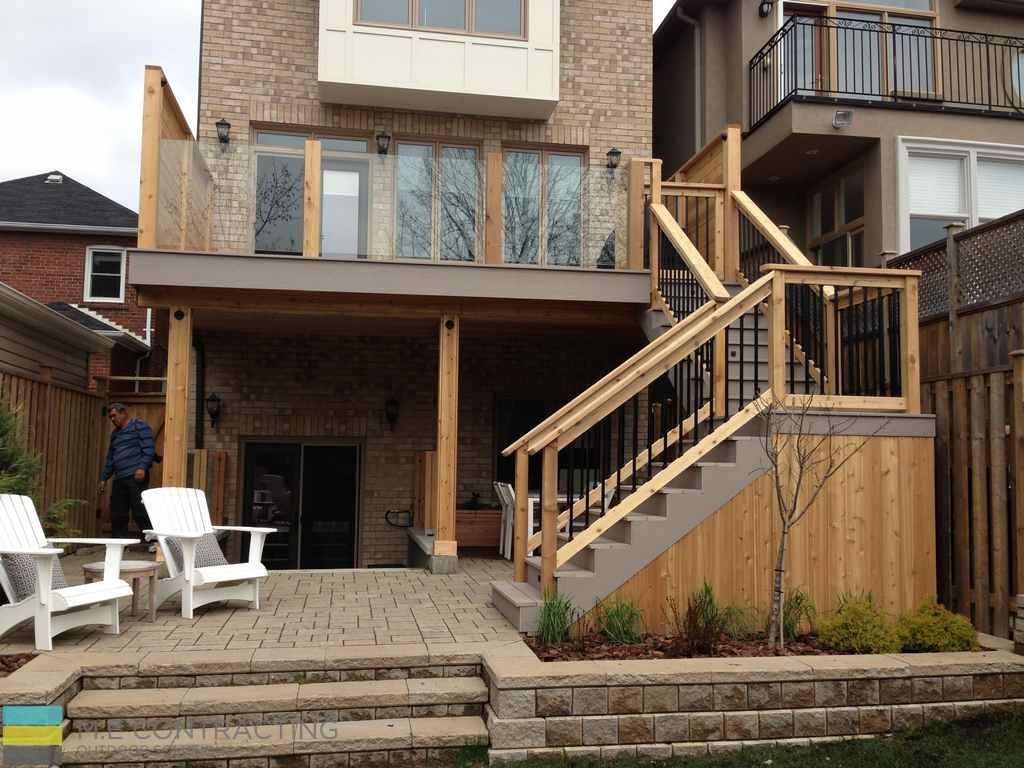 deck ideas above walkout basement cosy deck ideas above walkout basement patio patio ideas under deck