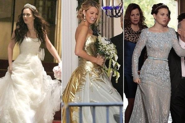 Gossip Girl Fashion: Blair's Vera Wang Wedding Gown Fitting and More! | InStyle