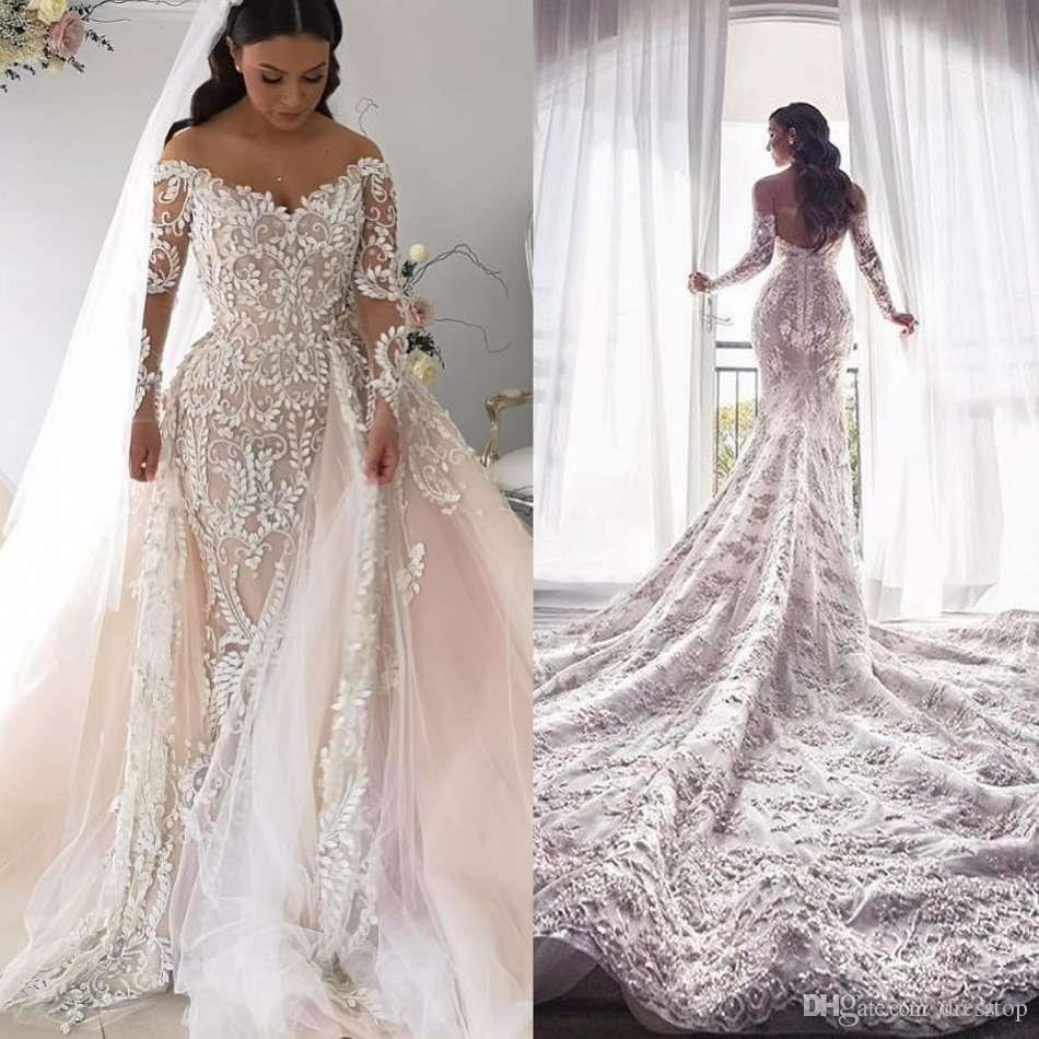 Discount Asaf Dadush 2018 Mermaid Wedding Dresses With Wrap Jacket Vintage Crochet Lace Spaghetti Backless Beach Boho Trumpet Customized Bridal Gowns A Line