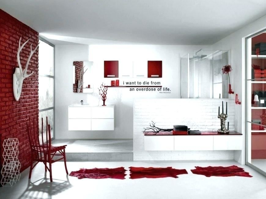 Love this gray and red!