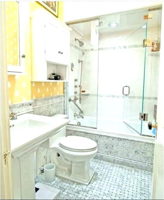 Bathroom Ideas, Modern Small Bathroom Remodel Mixed With Transparent  Glass Shower Door Also Wooden Bathroom