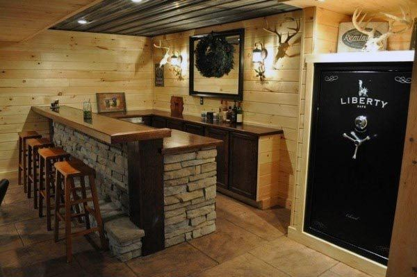 95 Best Images About Mountain Cabin Basement