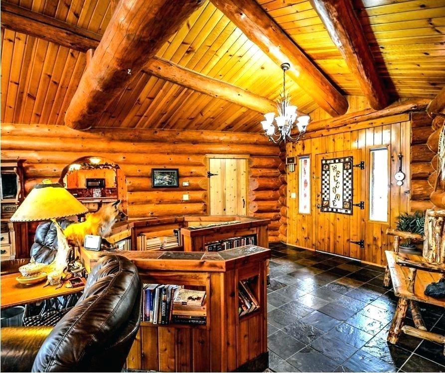 cabin kitchen rustic
