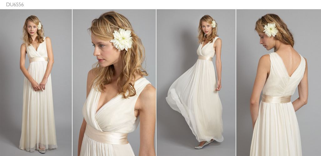 Art Nouveau Inspired Wedding Dress for 2016 from Saja Wedding