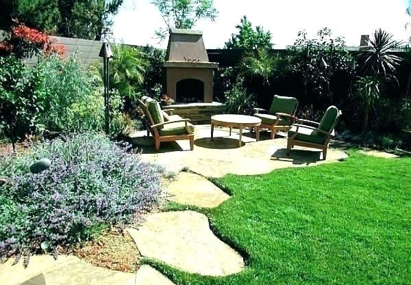 simple backyard landscape landscaping plans ideas on a budget inexpensive  pictures